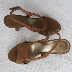 Predictions Shoes - PREDICTION SUEDE HEELS